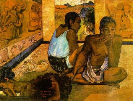 paulgauguin-daydreaming